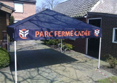banner partytent Cadee