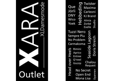 Etalage banner Xara Asten