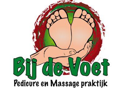logo pedicure voet